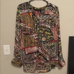 Funky top by Glance